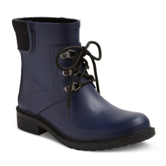 Merona Shoes - NWOT Merona Women's Navy Blue Briley Rain Booties